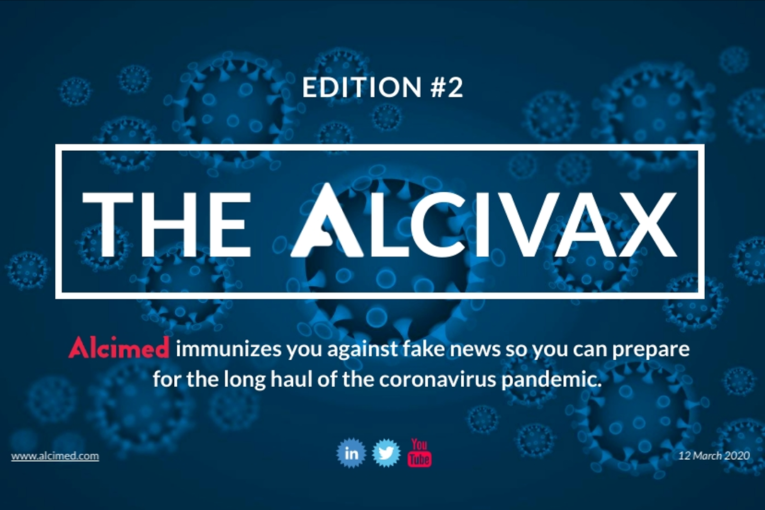 Alcivax 12 March 2020 - Weekly digest on COVID-19 coronavirus