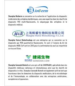 Kit de diagnostic COVID-19 BioTech entreprises