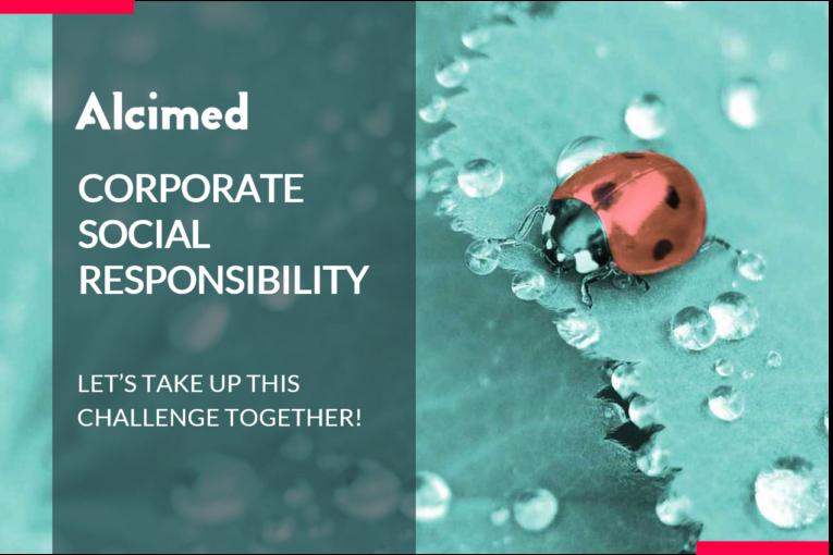 RSE - Responsabilité Sociale de l'Entreprise offre Alcimed. CSR - Corporate Social Responsibility Alcimed offer.