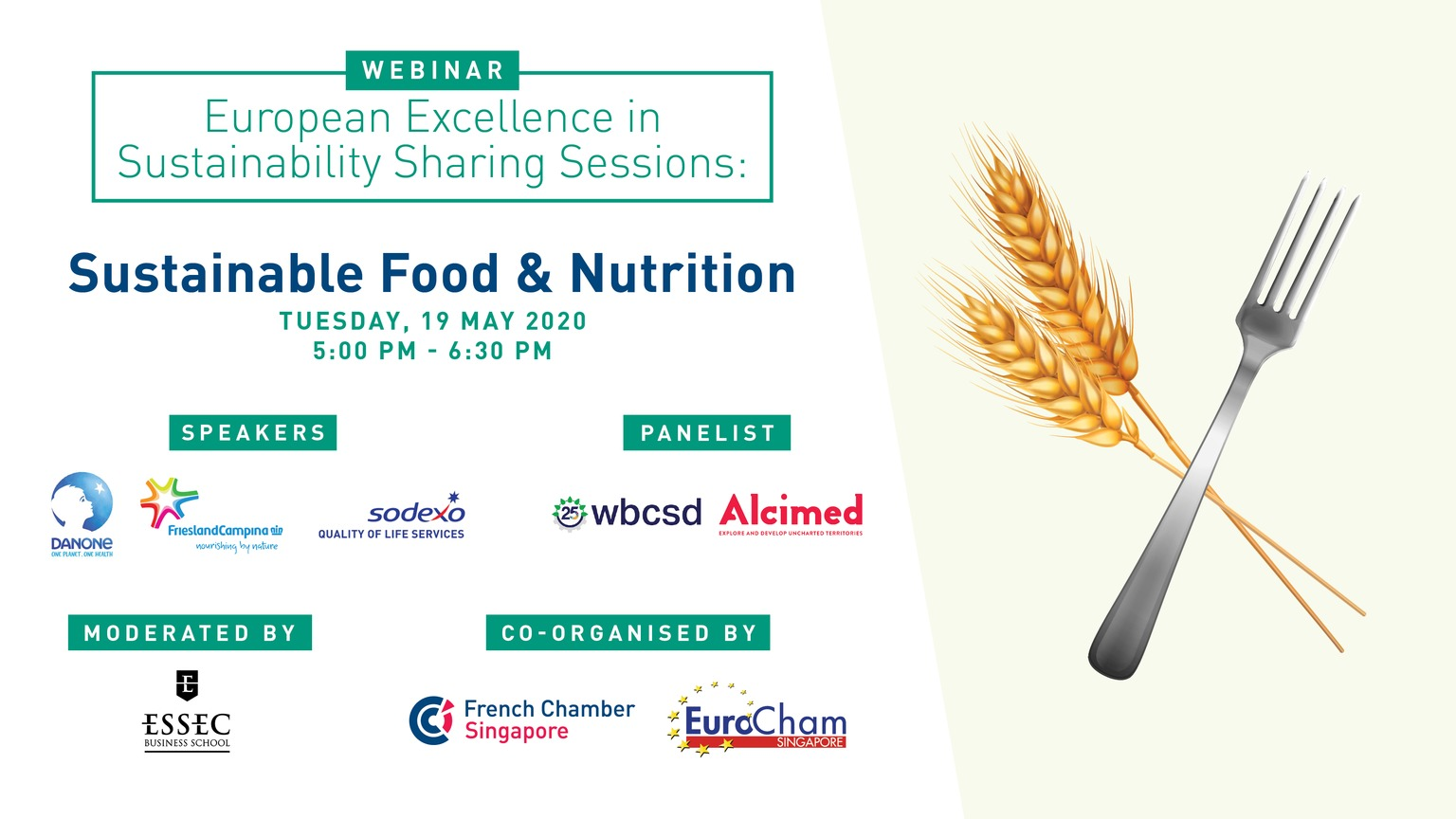 Alcimed at the European Excellence in Sustainability sharing session : Sustainable food & nutrition