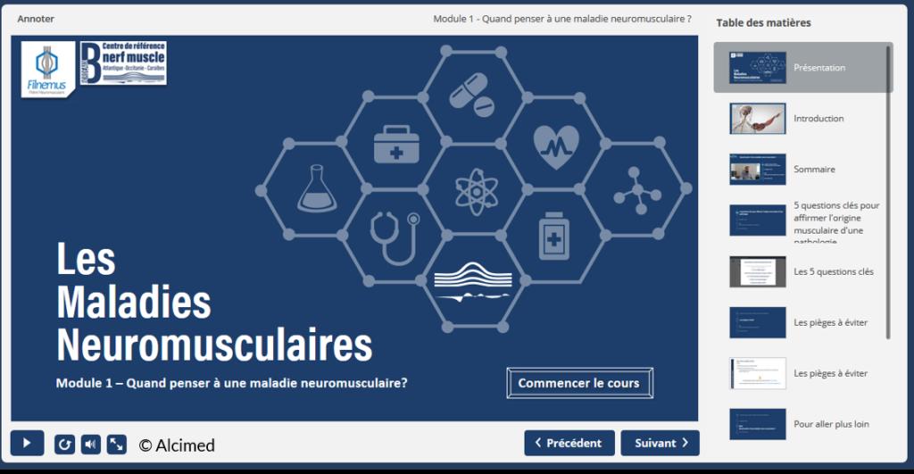 Maladies rares outils pour améliorer leur connaissance et leur suivi grâce au e-learning