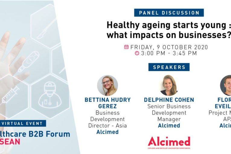 Alcimed will held a panel discussion on Healthy Aging in Asia, organized by the French Chamber of Commerce of Singapore.
