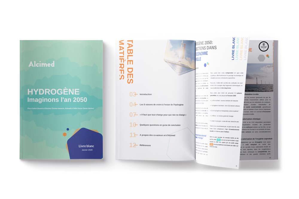 Hydrogène 2050 : imaginons l'an 2050 dans les industries Energie Environnement Mobilité par Alcimed