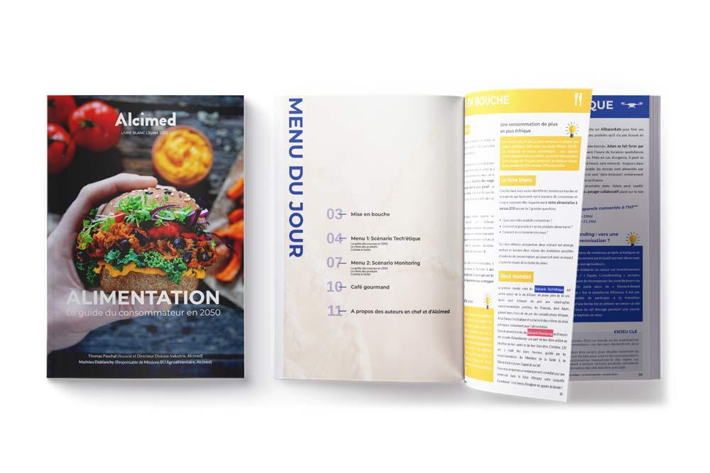 Alimentation 2050 : le guide du consommateur en 2050 pour l'industrie agroalimentaire agrifood par Alcimed