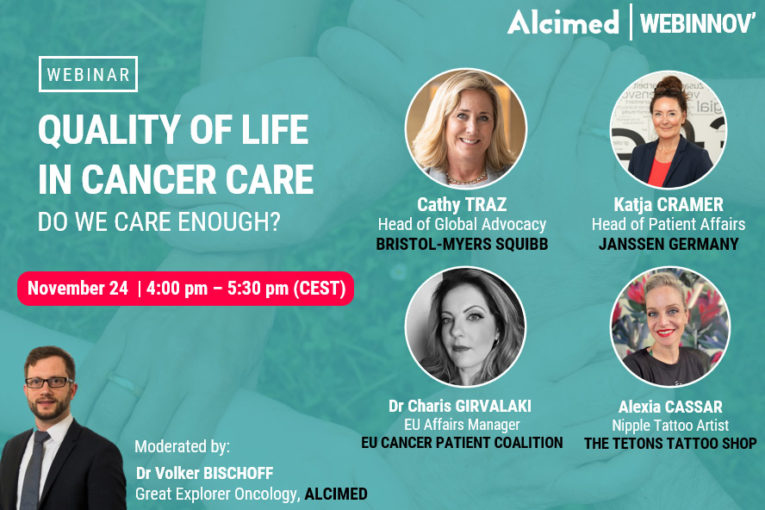 Webinar on Quality of Life in cancer care by Alcimed