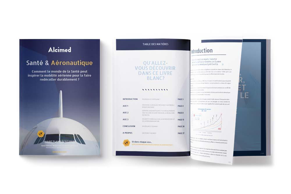 Position Paper Livre Blanc Aéronautique Spatial Défense et santé Alcimed