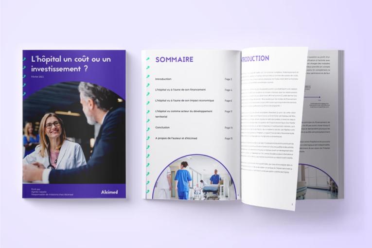 L'hôpital : coût ou investissement ? Téléchargez notre livre blanc Alcimed
