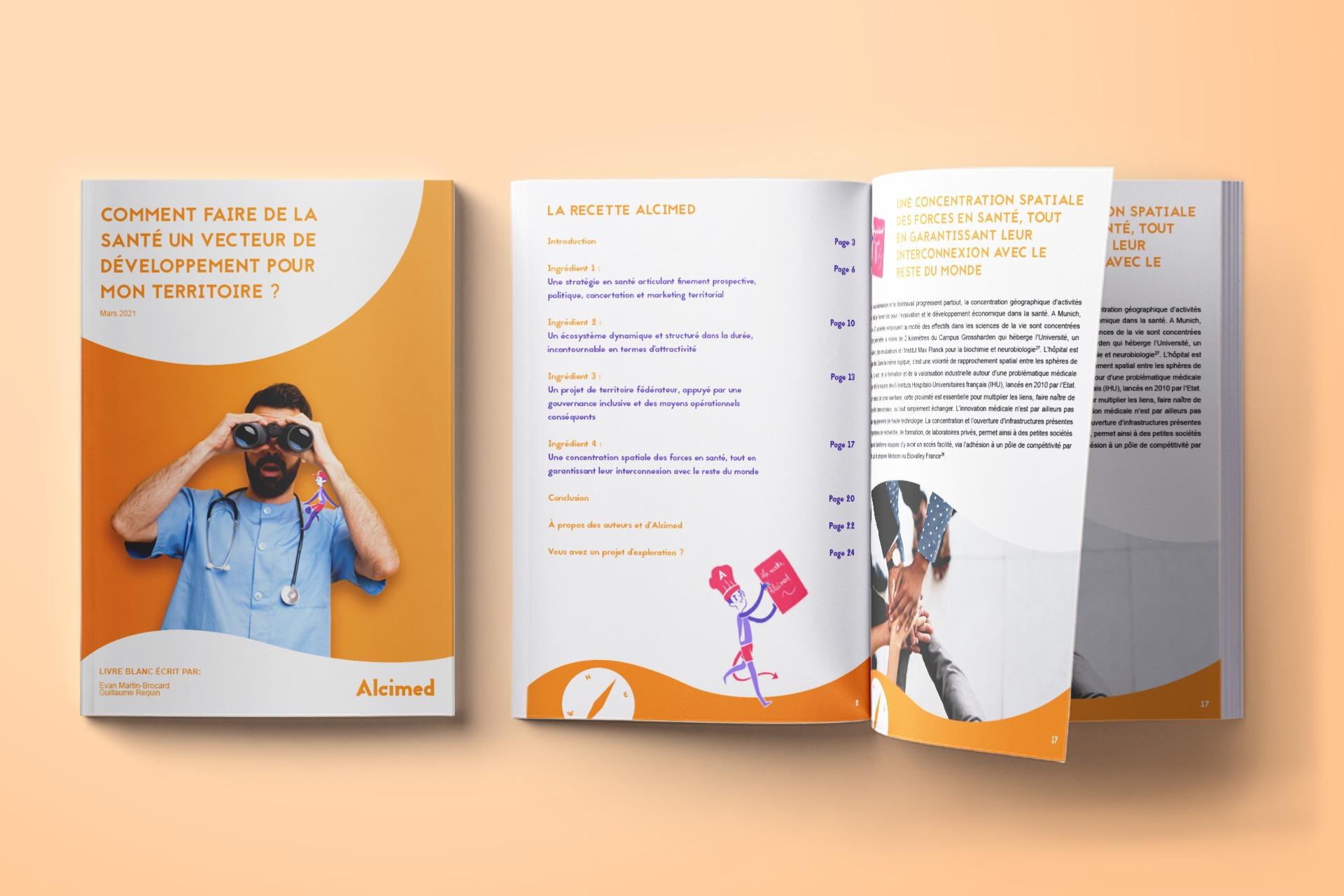 Livre blanc Alcimed - Comment faire de la santé un vecteur de développement économique et d'innovation pour mon territoire
