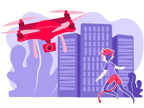Alcimed : Conseil en innovation marché drones UAV industrie aéronautique spatial défense
