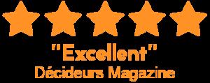 Alcimed classé acteur excellent par Décideurs Magazine dans la catégorie cabinet de conseil et stratégie et management de l'innovation